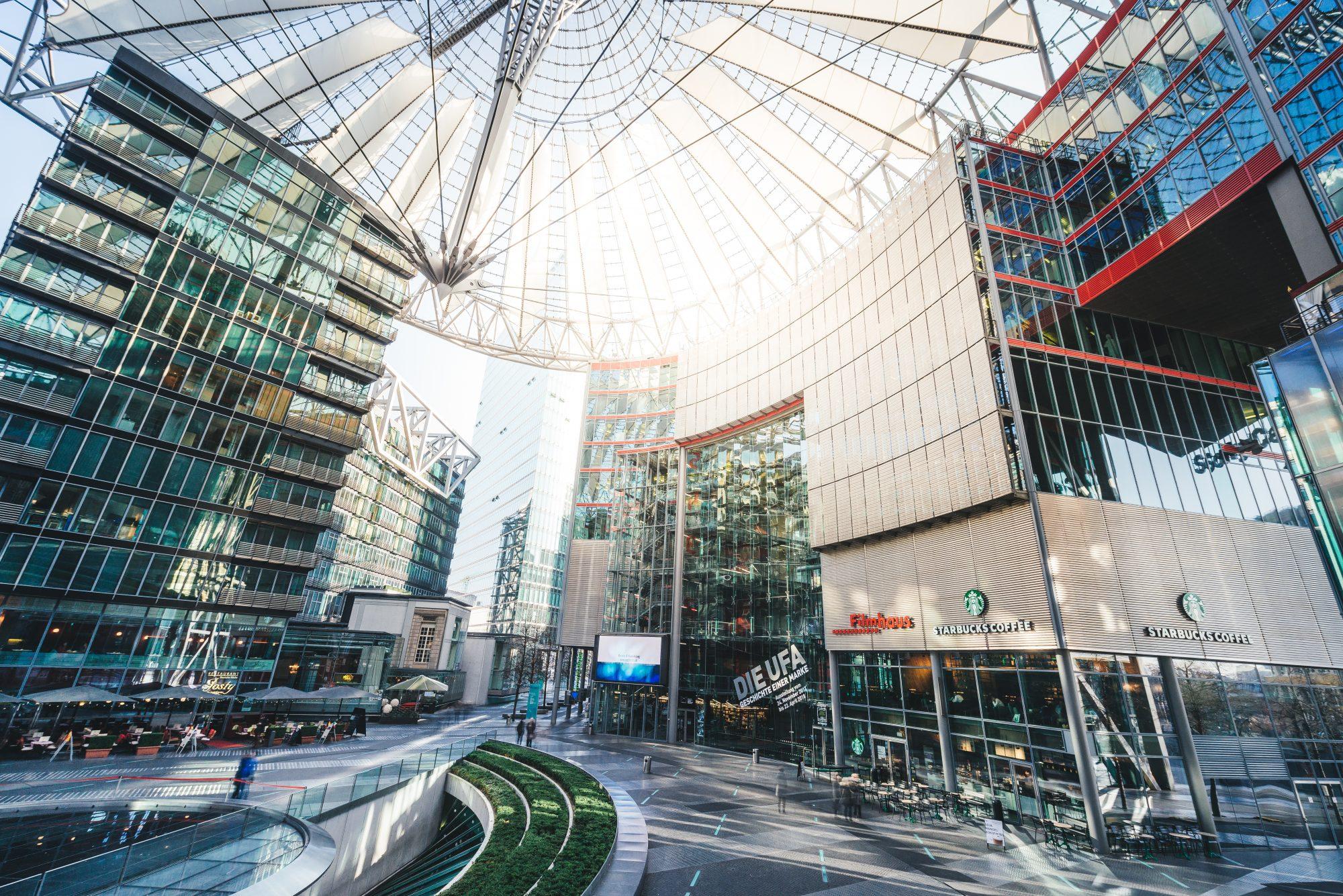 Sony Center Berlin - Fotograf - Tobias Bechtle
